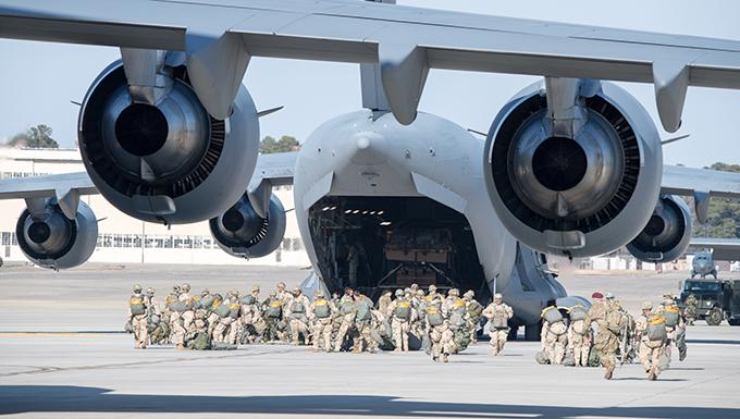Airmen support Large Package Week, EDRE