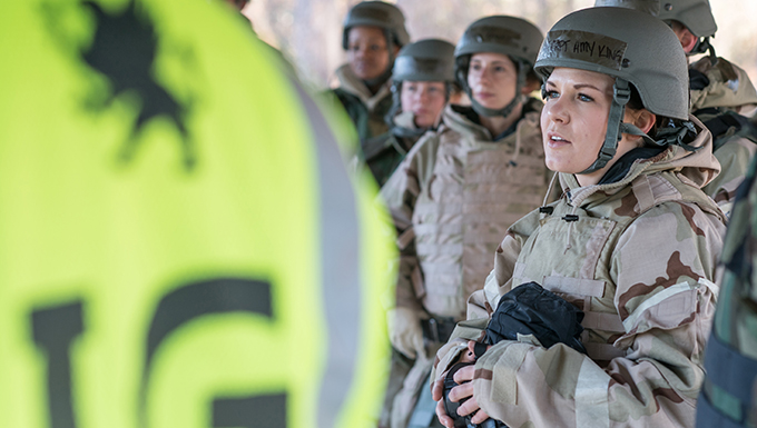 AES conducts Ability To Survive and Operate training